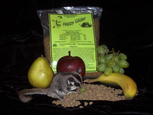 Happy Glider Sugar Glider Food Fruity - Hedgehogs by Vickie