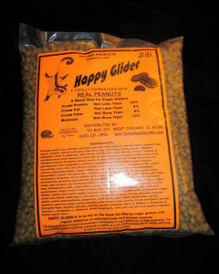 Happy Glider Sugar Glider Food Peanut - Hedgehogs by Vickie