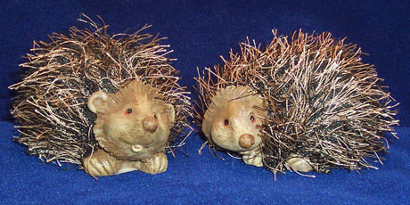 Novelty Resin Hedgehot Figurine - Hedgehogs by Vickie