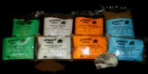 Spike's Delite hedgehog food for sale Hedgehogs by Vickie