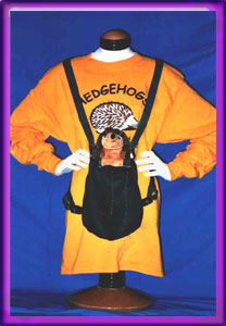 Snuggle Sack - Bonding with your hedgehog - HEDGEHOGS by Vickie