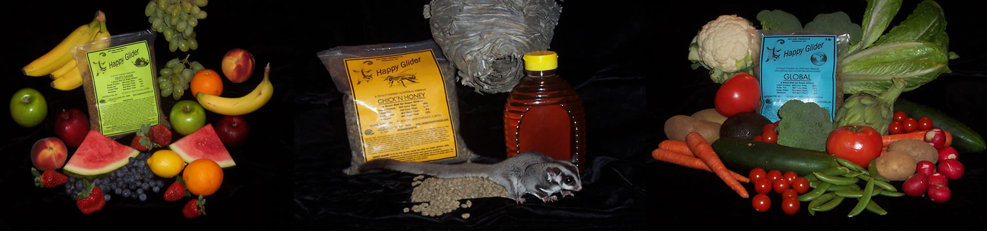 "We Carry ""Happy GLIDER"" Sugar Glider Food"